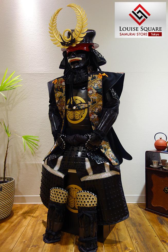 Ls11 Tokugawa Ieyasu Black Armor Samurai Store Tokyo Aoyama