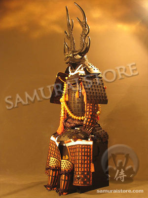 Honda North America >> WA04 Honda Tadakatsu's Suit of Samurai Armor & Helmet | Samurai Store International