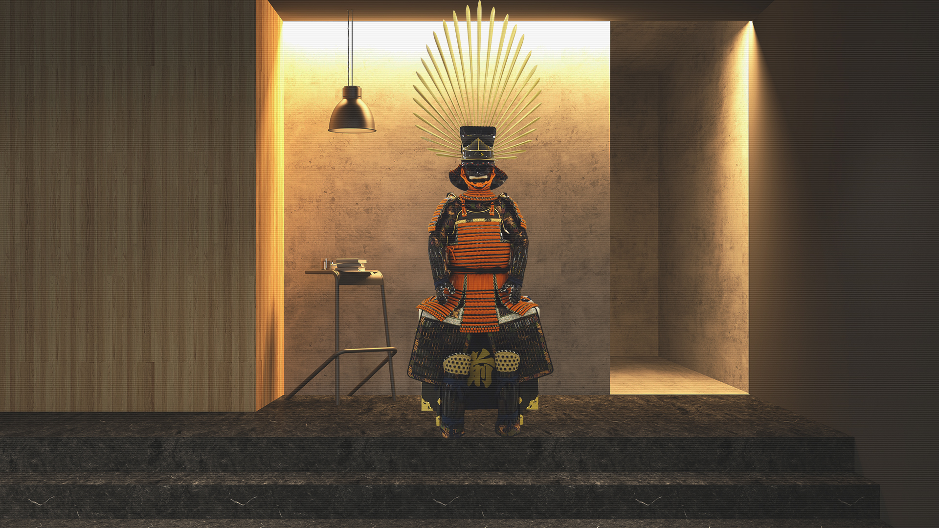WA05 Reproduction of Toyotomi Hideyoshi's Armor