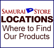 Samurai Store Locations