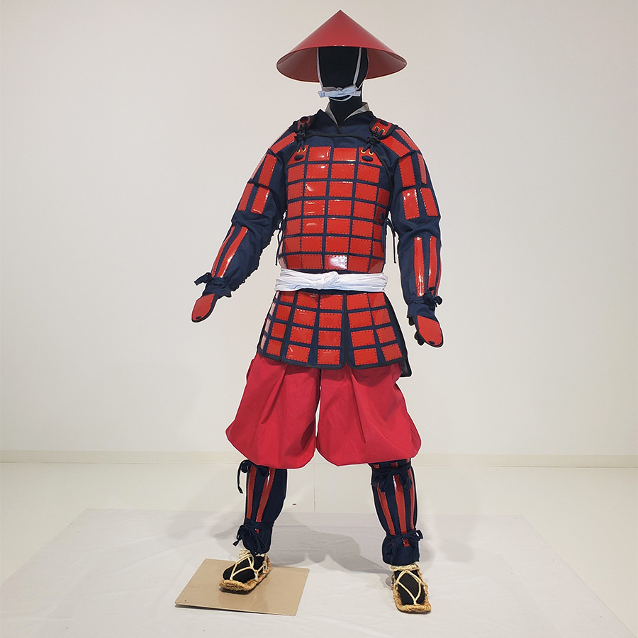 Tatami Karuta Folding Armor & Outfits Red